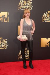 Ashley Rickards – 2016 MTV Movie Awards at Warner Bros. Studios in Burbank