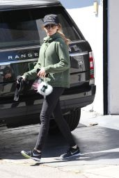Ashley Tisdale - Leaves the Gym in Beverly Hills 3/31/2016
