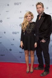 Avril Lavigne on Red Carpet - 2016 Juno Awards in Calgary