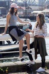 Bailee Madison & McKayley Miller - Out in Vancouver 4/2/2016