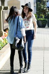Bailee Madison Street Style - Out in Vancouver 4/1/2016