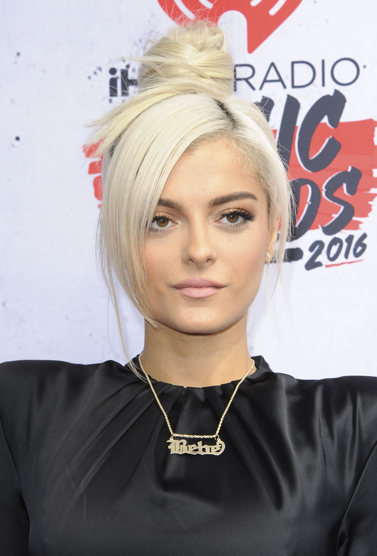 Bebe Rexha Iheartradio Music Awards 2016 Red Carpet Inglewood 508397