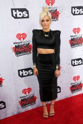 Bebe Rexha – iHeartRadio Music Awards 2016 Red Carpet in Inglewood