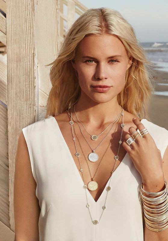 Becca Hiller Photos - Anna Beck Jewelry Spring 2016