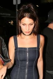 Bella Hadid Night Out Style - West Hollywood 4/20/2016