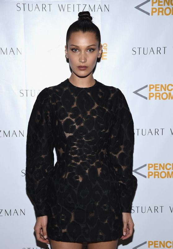 Bella Hadid – Stuart Weitzman Partnership Launch Eith Pencils of Promise in New York City 4/11/2016