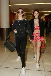 Bella Thorne - Arrives at Los Angeles International Airport 4/8/2016