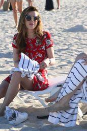 Bella Thorne at a Beach in Miami 4/7/2016