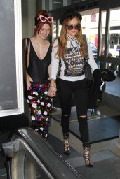 Bella Thorne & Dani Thorne at LAX Airport in LA, 4/6/2016