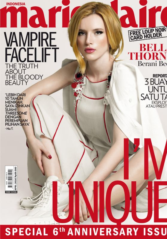 Bella Thorne - Marie Claire Indonesia April 2016 Issue