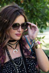 Bella Thorne – Revolve Desert House at Coachella 4/16/2016