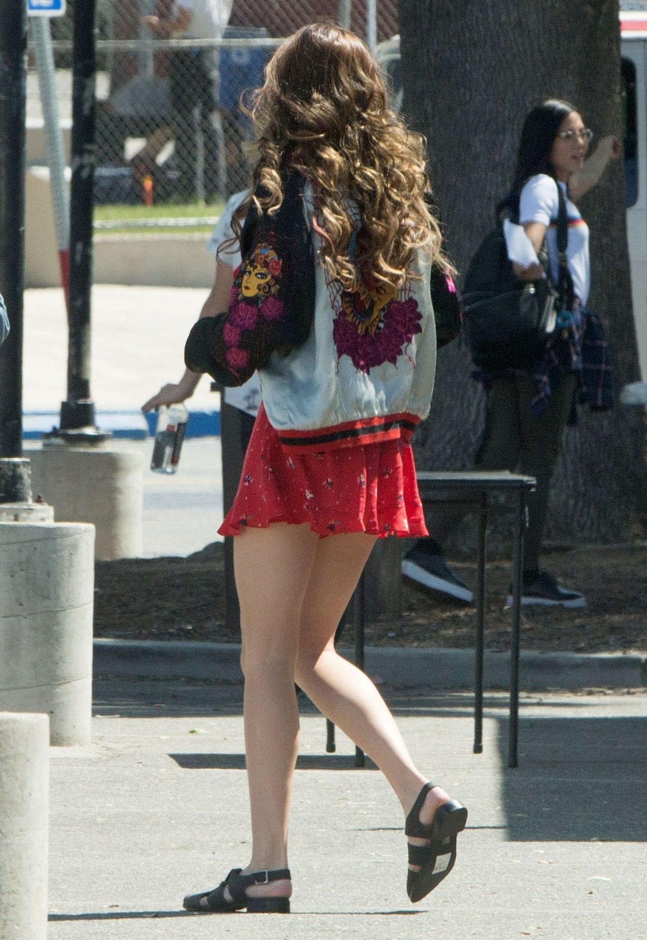 Bella Thorne Shows Off Her Perfect Legs You Get Me Set