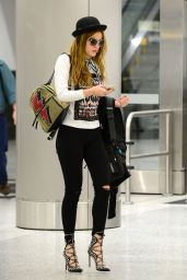 Bella Thorne Style - at Airport in Miami 4/6/2016