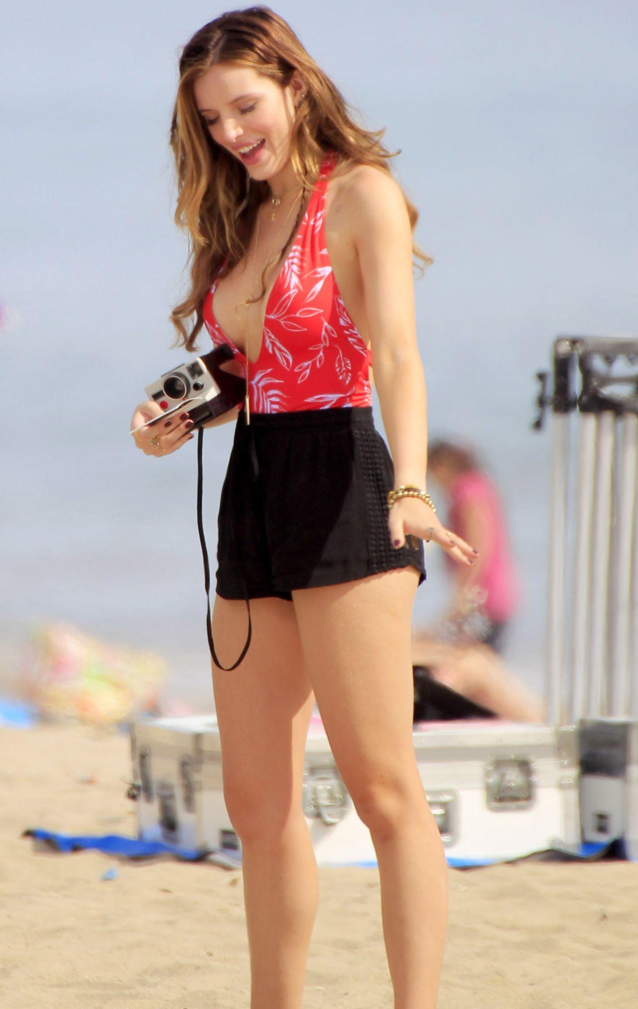 Bella Thorne - You Get Me Set Photos In Santa Monica -4967