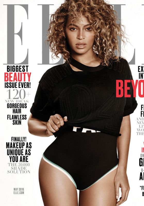 Beyoncé - Elle Magazine Cover and Pics May 2016