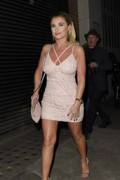 Billie Faiers  – In the Style Party - Libertine Night Club, London 3/31/2016