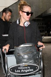 Billie Piper is a Low-Maintenance Star at LAX Airport in Los Angeles 4/8/2016
