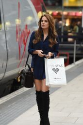 Binky Felstead - Attending In The Style HQ for Design Meetings in Manchester 4/15/2016