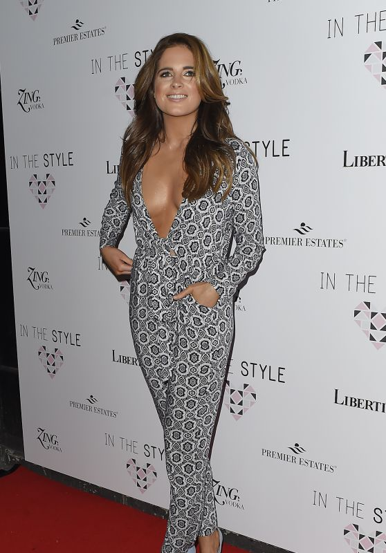 Binky Felstead - In the Style Party, London 3/31/2016