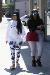 Blac Chyna - Visits The Fashion District in Downtown Los Angeles 4/19/2016