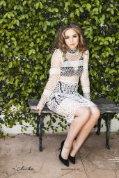 Brec Bassinger - Cliché Magazine April May 2016 Issue