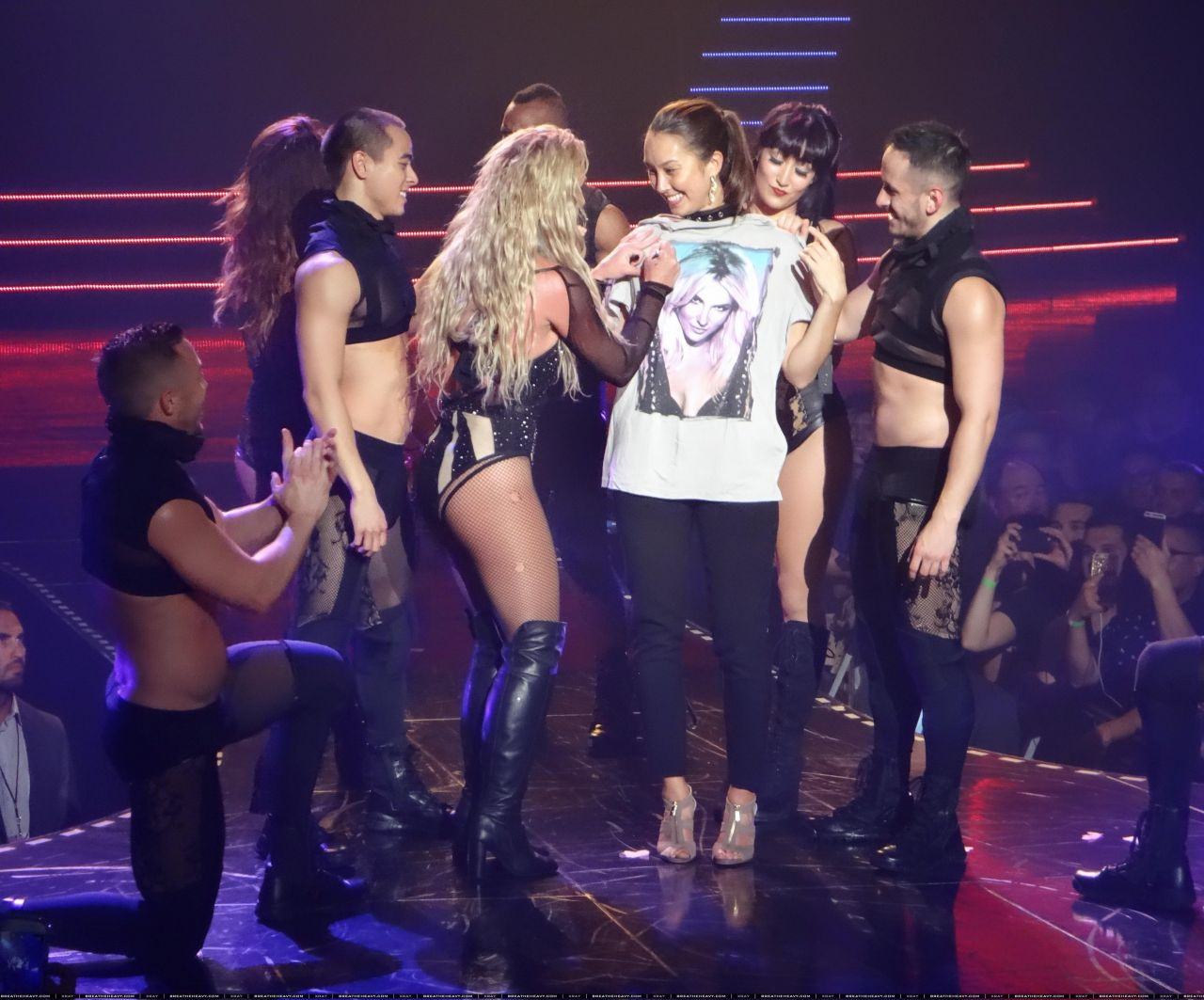 Britney Spears Performing in Las Vegas, April 2016 Britney Spears Las Vegas