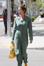 Brooke Burke-Charvet - Leaves a Salon in Beverly Hills 4/25/2016