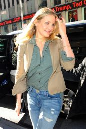 Cameron Diaz Looking Stylish - Arriving at Z100 in New York City 4/4/2016