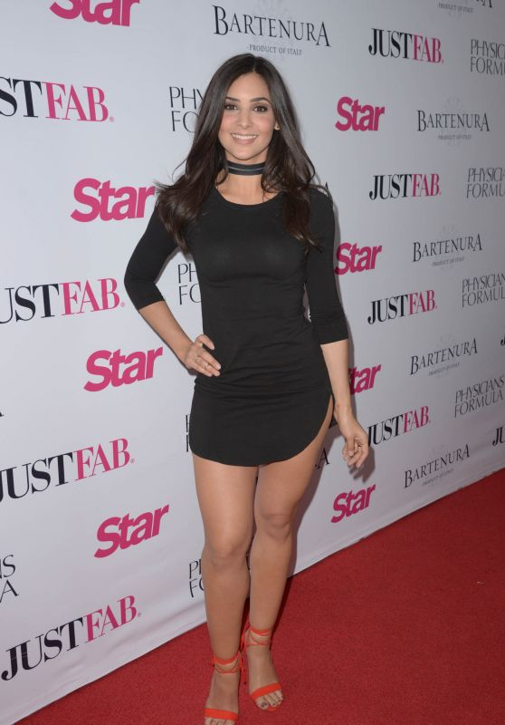 Camila Banus in Little Black Dress - Star Magazines Hollywood Rocks Event in Hollywood, April 2016