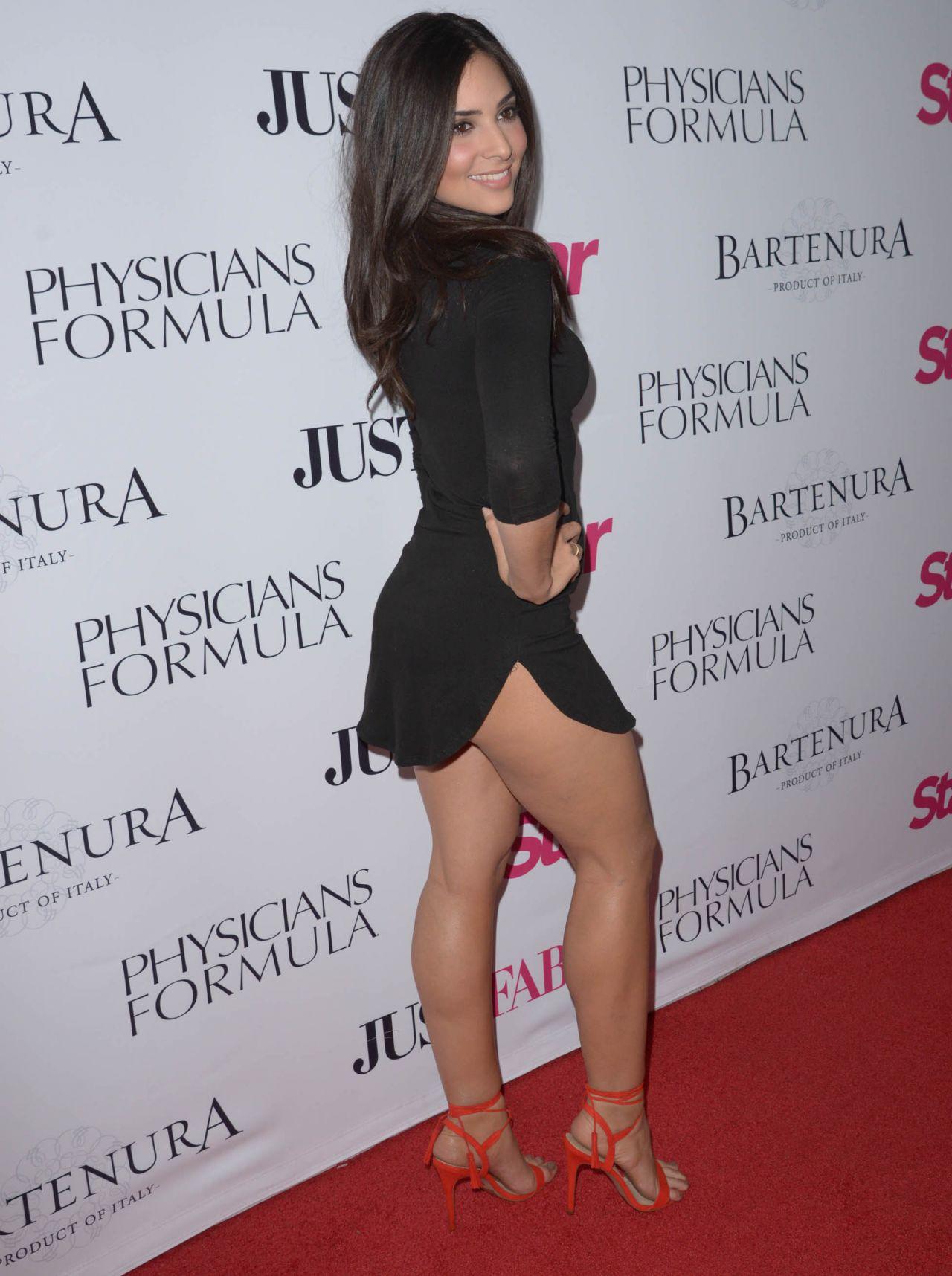 Black dress hollywood - Camila Banus In Little Black Dress Star Magazines Hollywood Rocks Event In Hollywood April 2016