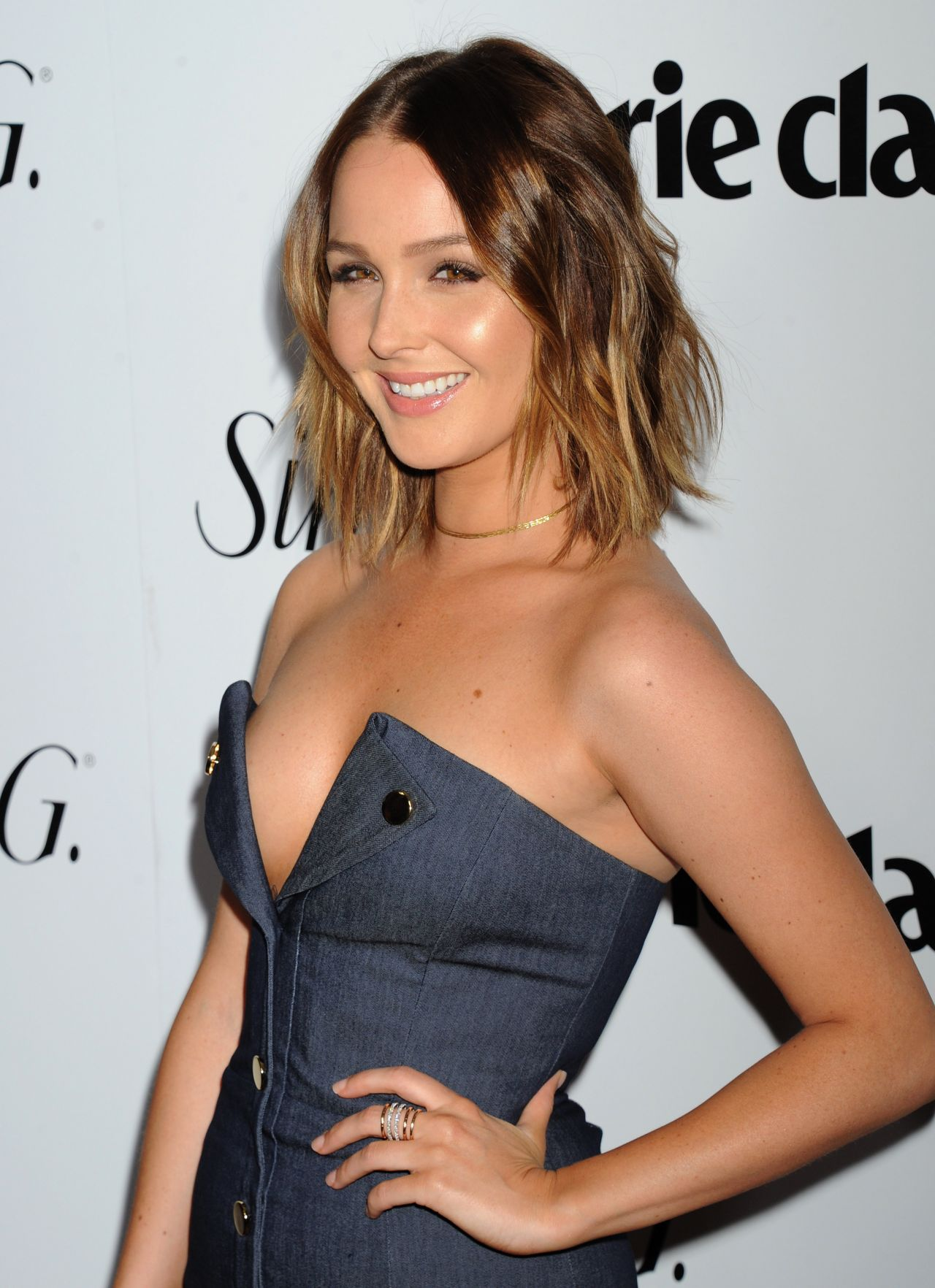 Camilla Luddington Fresh Faces Party Hosted By Marie
