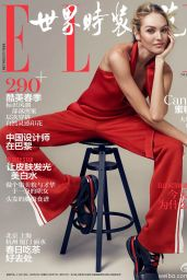 Candice Swanepoel - Elle Magazine China May 2016 Covers