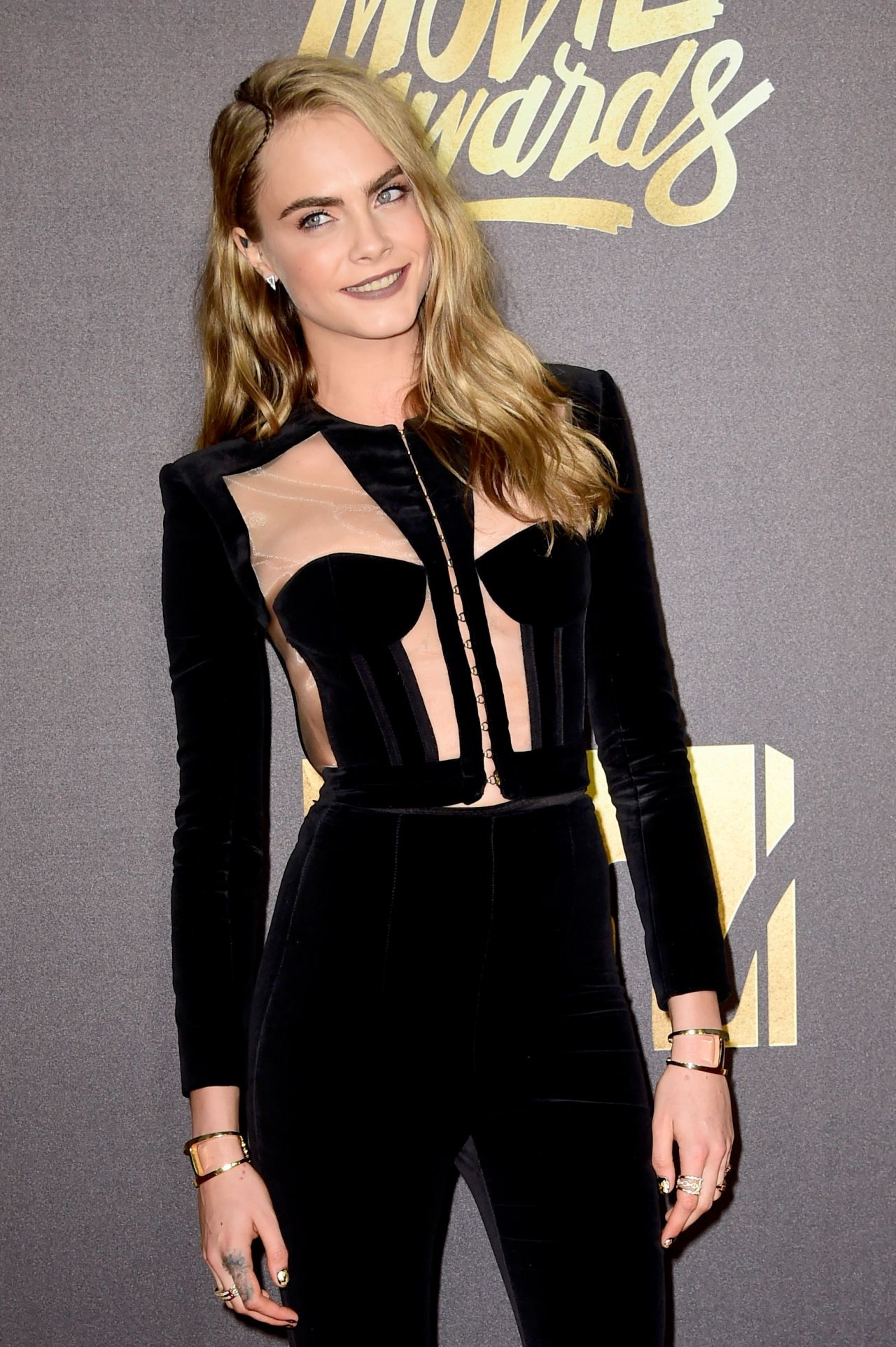 Cara Delevingne – 2016 MTV Movie Awards in Burbank, CA
