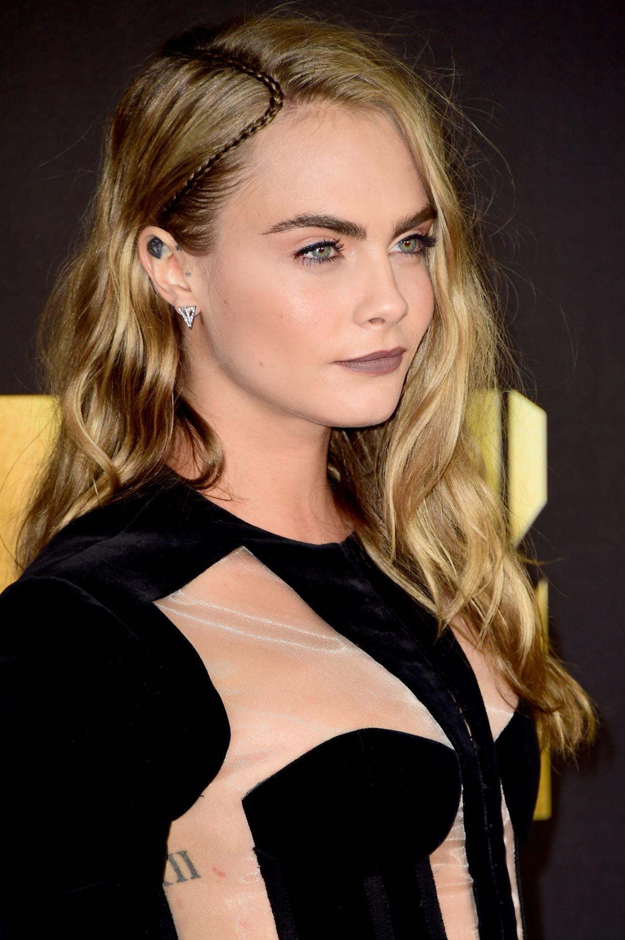 Cara Delevingne 2016 Mtv Movie Awards In Burbank Ca