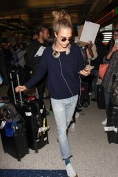 Cara Delevingne at LAX Airport in LA, April 2016