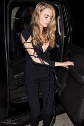 Cara Delevingne Night Out Style - Nice Guy in Los Angeles 4/9/2016