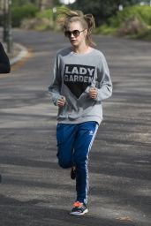Cara Delevingne - Running in the Lady Garden 5km Race in Battersea Park in London 4/23/2016