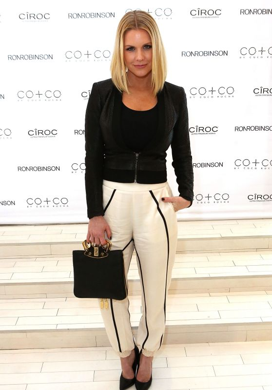 Carrie Keagan - RonRobinson x CO+CO By Coco Rocha Launch Party in Santa Monica, April 2016