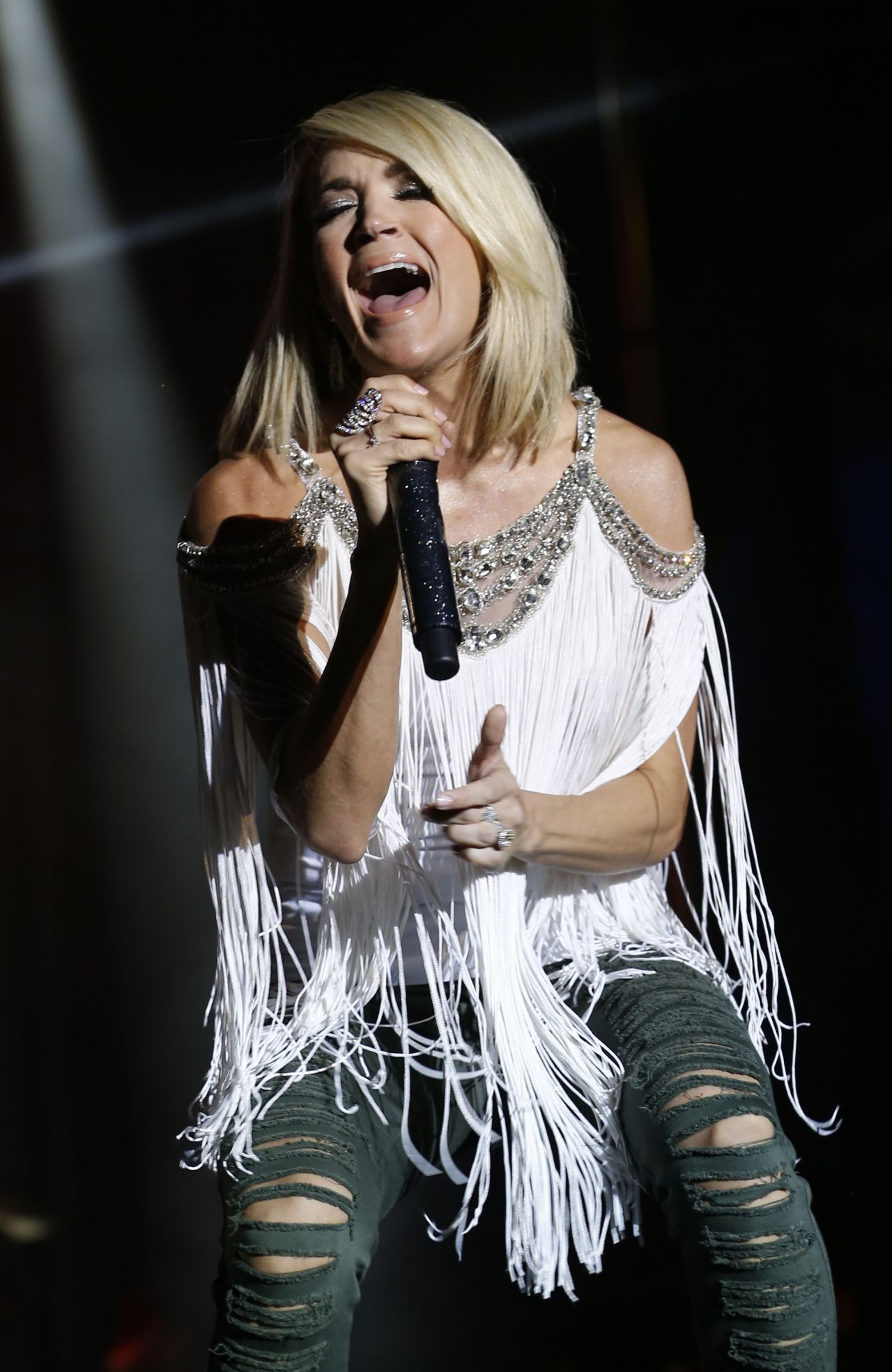 Carrie Underwood - 2016 ACM Party For A Cause Festival in ...