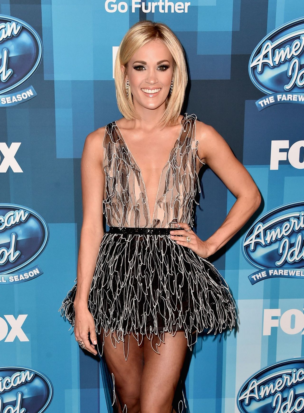 carrie underwood american idol finale for the farewell