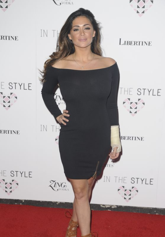 Casey Batchelor - In The Style Clothing Launch at Libertine in London 3/31/2016