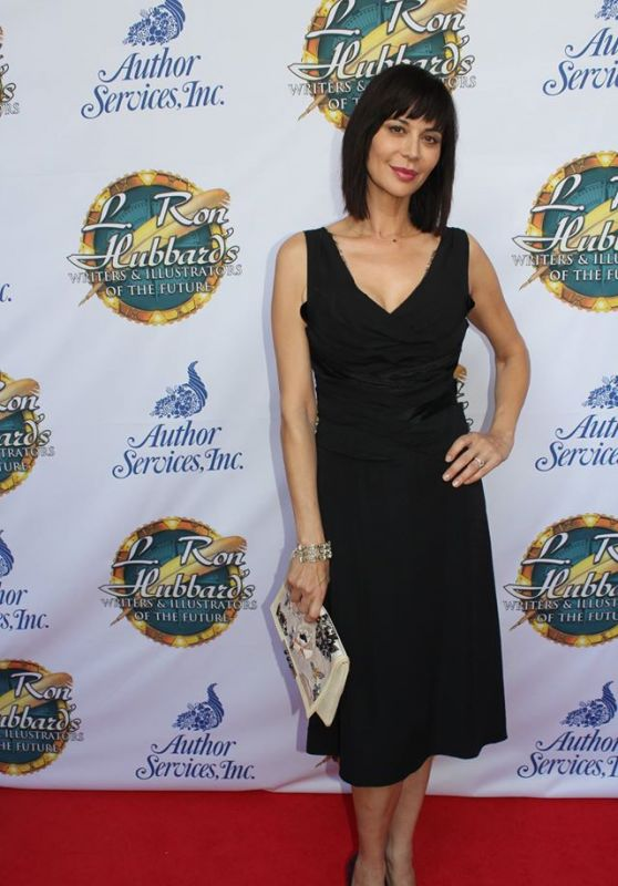 Catherine Bell - L. Ron Hubbard Writers & Illustrators of the Future Awards Ceremony, April 2016