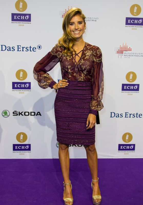Cathy Hummels – 2016 Echo Music Awards in Berlin, Germany