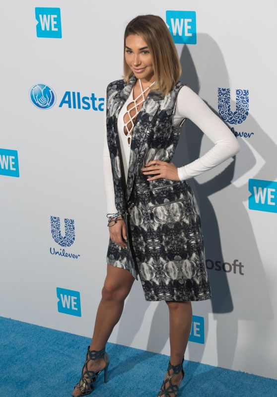 Chantel Jeffries – WE Day California 2016 in Inglewood, CA