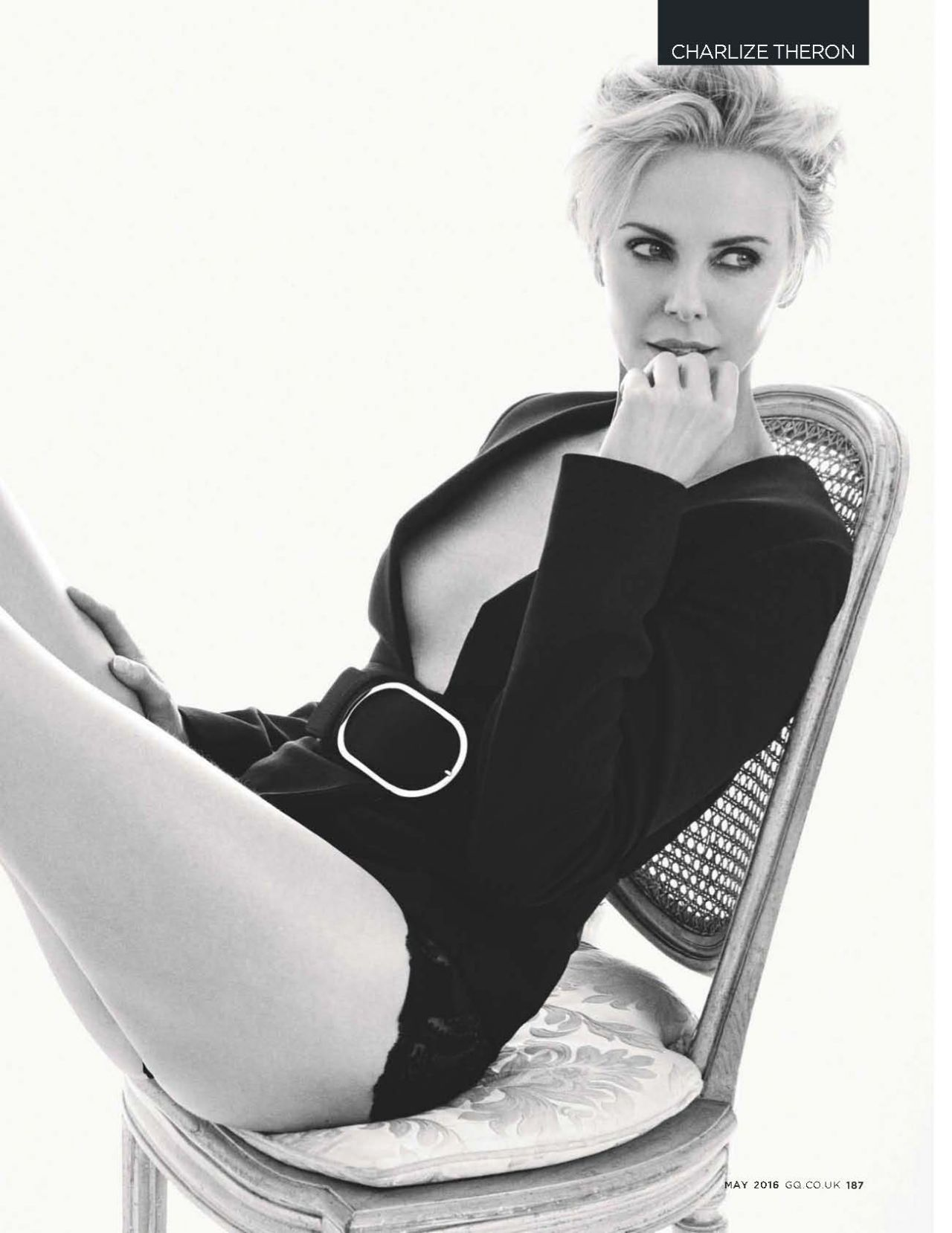 Charlize Theron – GQ Magazine UK May 2016 Issue Charlize Theron