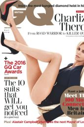 Charlize Theron – GQ Magazine UK May 2016 Issue