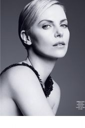 Charlize Theron - Grazia Magazine Italia April 2016 Issue
