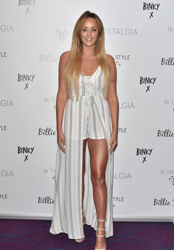 Charlotte Crosby - In The Style's SS16 Collection Launch at the Sanctum Soho Hotel in London 4/5/2016