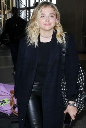Chloë Grace Moretz AIrport Style - LAX in Los Angeles 4/20/2016
