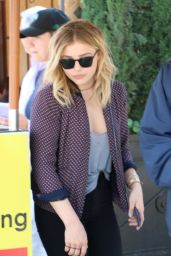 Chloë Grace Moretz - Lunch at Il Pastaio Restaurant in Los Angeles 4/4/2016